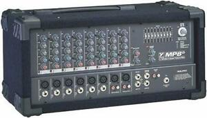 Yorkville (MP8D) 2x160W, 8 inputs Mixer / Amp $229.99
