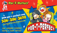 Par-T-Perfect is looking for a driver.