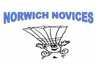 GET FIT - Come and play Badminton with the Norwich Novices