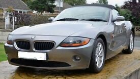 BMW Z4 2.5i roadster 2003 will PX - Low mileage full service history see description