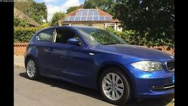 BMW 1 series 57 plate with low mileage