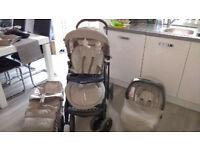 Pram/Pushchair/Car Seat 3 in one