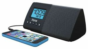 iHOME DUAL ALARM CLOCK/ USB CHARGING SPEAKER FOR SALE
