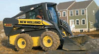 Skid Steer (Front end loader, Bobcat) for Rental with Operator