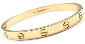 Cartier Love Yellow Gold Bracelets