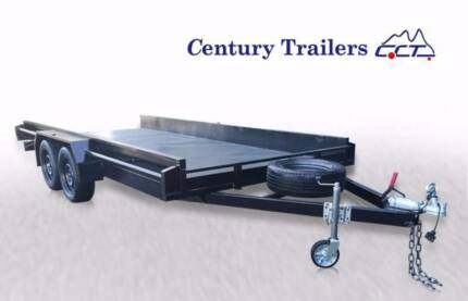 Century Trailers Local Build 16 x 6.6 FT Car Trailer For Sales