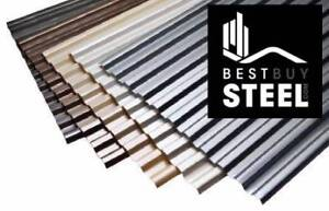 BEST VALUE GENUINE BLUESCOPE ROOF SHEETING - call 1800-BUY-STEEL
