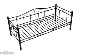 Decorative Metal Frame Day Bed - with mattress
