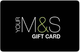 £100 Marks & Spencers Gift Card M&S Voucher