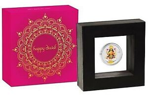Perth mint Diwali silver proof coin