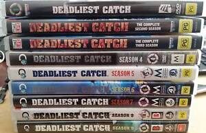 Deadliest Catch S1-9, Survival of the Fittest and Hairiest Moment Rankin Park Newcastle Area Preview