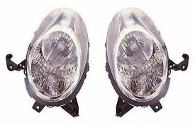 NISSAN MICRA 2005 HEADLIGHT HEADLAMP PAIR LEFT & RIGHT