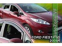 Ford Fiesta Mk7 Mk8 5 Door Wind Deflectors ( Mk 7 8 Ecoboost )