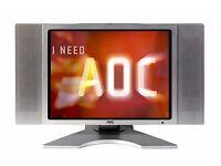 TV AOC 20 inch TV +Monitor
