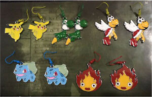 Anime - Pokemon - Nintendo earrings, keychains or necklaces London Ontario image 1