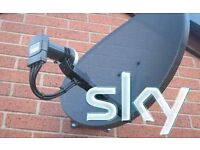 Satellite TV Aerial Installed around Manchester service engineer SKY FREESAT FREEVIEW