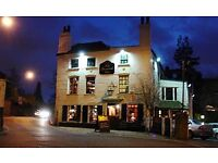 Experienced bar & waiting staff for famous London pub