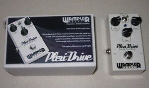 Wampler Plexi-Drive and Pinnacle EVH Brown Sound Negotiable