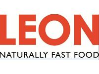 LEON hires FULL TIME Counter Team Member in New Street Station - Immediate start
