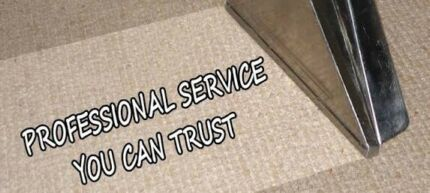 Residential carpet steam cleaning