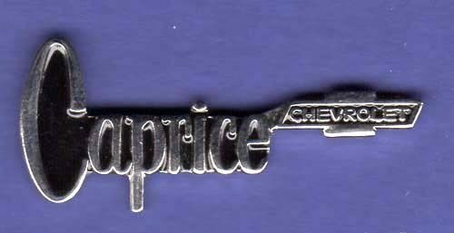 CHEVY CAPRICE HAT PIN LAPEL PIN TIE TAC BADGE #0863