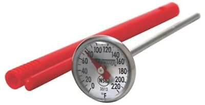 Read Dial Thermometer - NEW TAYLOR 3512 INSTANT READ DIAL MEAT THERMOMETER STAINLESS & CLIP 6554109