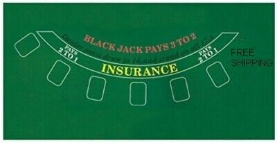 Blackjack Table Top Layout 36