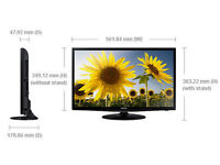 """BRAND NEW 24"""" SAMSUNG T24E310 LED MONITOR&TV Freeview HD Ready 720p"""