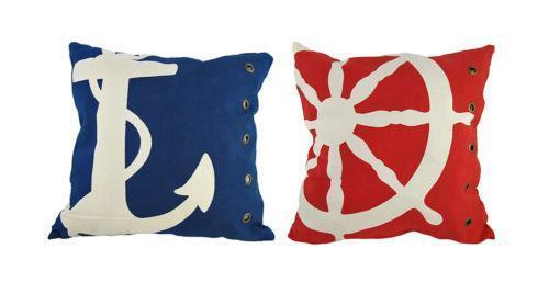 Nautical Throw Pillows EBay Simple Nautica Pillow Covers