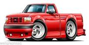 Ford Lightning Decals