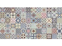Gayafores Heritage Deco Mix Floor and Wall Tiles MOROCCAN STYLE