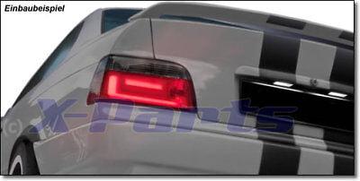 LED Rückleuchten für BMW 3er E36 Coupe + Cabrio 92-99 SCHWARZ ROT New Design Fut gebraucht kaufen  Hinterbirkenhof