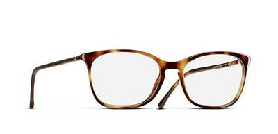 New Authentic Chanel Glasses 3281 light havana color 1295 54mm with (Womens Chanel Glasses)