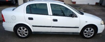 2005 Holden Astra Equipe White   Hamilton Newcastle Area Preview