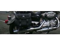 Harley Davidson sportster silencers & headers 1200 -883 2007