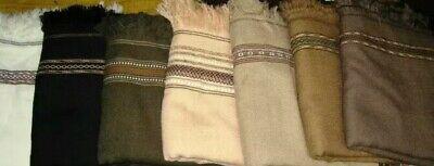 1 piece Pakistan Swati Wool Shawl Blanket Handmade For Men Best Quality
