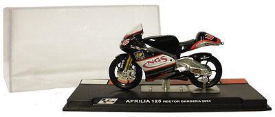 Ixo/altaya Alt30 Aprilia 125 2004 - Hector Barbera 1/24 Scale