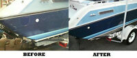 Detailing of boats, Seadoo's, Mobile homes