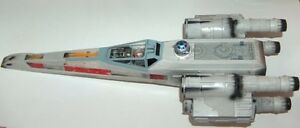 1998 Star Wars POTF Electronic Red 5 X-Wing Fighter London Ontario image 5