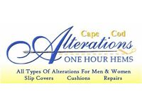Any cloths or materials alteration Contact us today