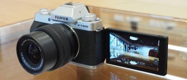 Fujifilm X-T200 24.2MP Mirrorless Camera - Silver (XC 15-45mm f/3.5-5.6 OIS...