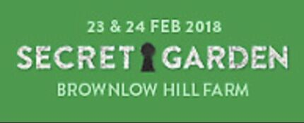 2x Secret Garden Tickets with Glamping and parking