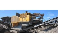 Crusher and Screener Hire (with operator)