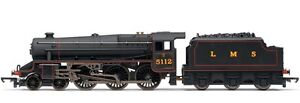 Hornby Railroad R2881 Class 5 4-6-0 Black 5 Tender Loco 5112 LMS Lined Black