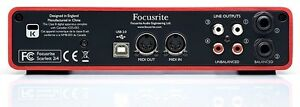 Scarlett 2i4 USB Audio Interface Peterborough Peterborough Area image 2