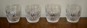 Waterford Colleen Pattern Old Fashioned Cut Crystal Tumblers