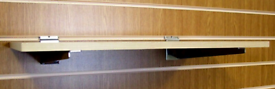 Two Large Shop Display Shelves