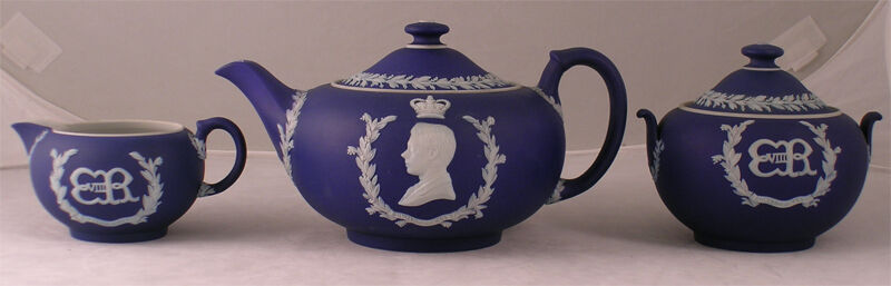 EDWARD VIII CORONATION TEA SET