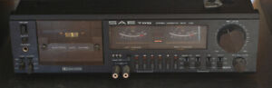 Tape cassette recorder/player