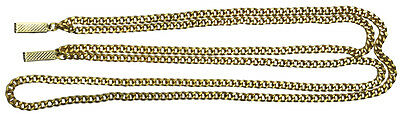 Zoot Suit Chain Gold  Costume Accessories (Zoot Suit Chain)